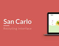 San Carlo - Restyling interface and prototype