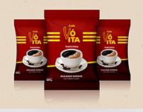 Design de embalagem - Café Vó Ita