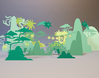 Animated Holiday Card for Omnicom