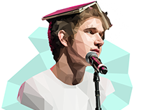 Bo Burnham Geometric