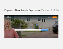 Pegasus - New Search Experience (Desktop & Mobi)