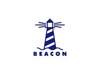 Beacon - Lighthouse Logo