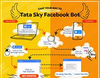 Tata Sky Facebook Bot