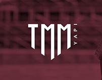 """""""TMM Yapı"""" Logo Design"""