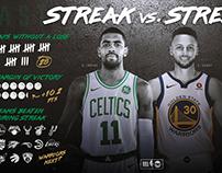 NBA on TNT Stat Carousels