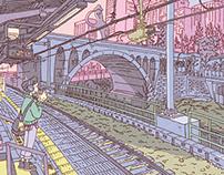 100 Views of Tokyo(26〜30)