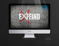 EXFEIND • THE LOGO • v2 LIGHT EDITION • Free Wallpaper