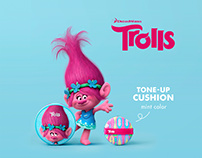 THEFACESHOP x Dreamworks Trolls (beauty collaboration)