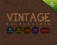 23 Vintage Backgrounds - $6