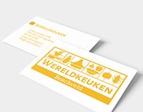 Logo and businesscard design for Wereldkeuken Boschveld