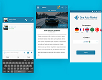 Car, Truck Rental Application UI kit and development