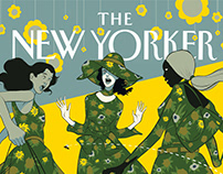 The New Yorker: Cover Concept Challenge! 1 per week