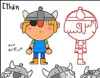 Character Design Artwork