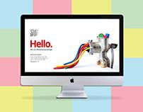 UI/UX Design, Website Design  for Branding Agency