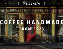 Florentin Patisserie - Web Design