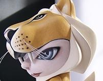Munnyworld Customs: Lion