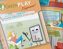 GreenPlay Game · Illustration Campaing