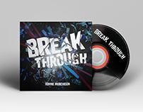 """Album Design """"Break Through"""""""