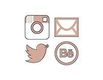 Social Media Icons, 2015