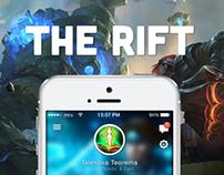 The Rift: League of Legends iOS UI