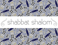 Shabbat Shalom Pattern Collection