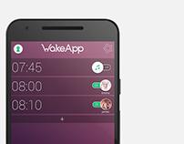 WakeApp - Social Alarm Clock