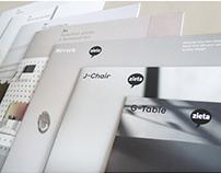 Catalogs for Zieta Prozessdesign