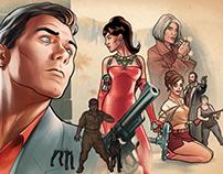 Archer Animated Key Art - 2 Seasons