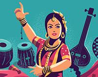 Sitara Devi - Google Doodle