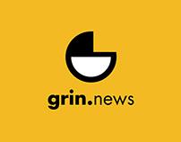 Grin News - Branding & Identity