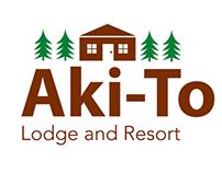 Aki-To Resort Logo, Icon Set, and Homepage Design