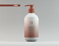 09_Free Cosmetic Bottle Mockup