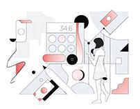 Fintech Personal Finance Illustration