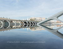 Personal work - city of art and science in Valencia