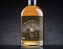 MEMORIES Scotch Whisky concept