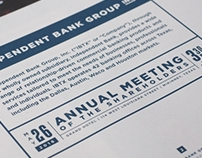 Annual Report - Independent Bank (2015)
