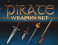 Pirate Weapon set