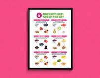 16 Handles Breakfast Poster