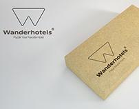 Wanderhotels Fridge Magnet Puzzle