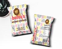 Animal Crackers Packaging