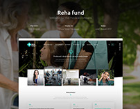 Reha fund - website for the medical company