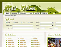 Package Holiday Website Design