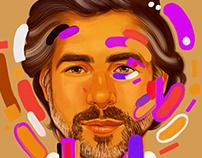 Adobe Creative Residency: Portrait in Adobe Fresco