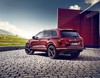 VW Touareg Executive Edition - CGI