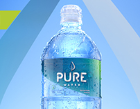 Pure Water: Nueva botella de 1L