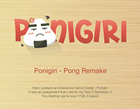 [Y2S3] Advanced Interactive Design - Ponigiri