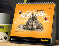 Simge Optik 2019 Takvim Tasarımı - Calendar Design