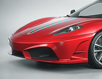 Ferrari F430 Scuderia   CGI
