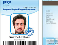 IRSP Employee Cards