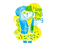 Ilustración - I love this song